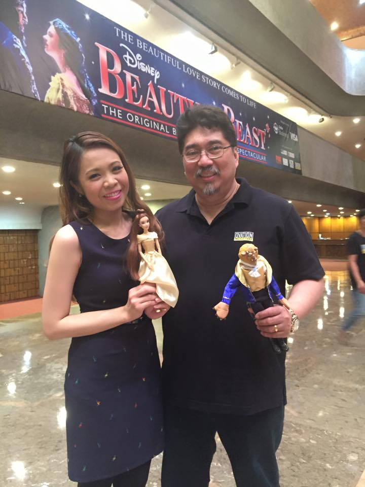 with Tito Renen de Guia, CEO of Ovation Productions.