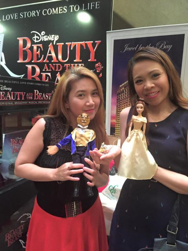 with Ms. Grace Foronda and my dolls!