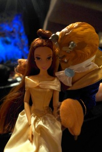 Beauty and the Beast: Having a tender moment