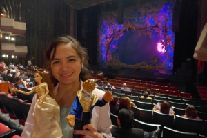 Tita Vea with Beauty and the Beast