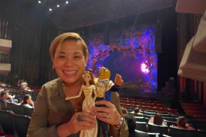 Tita Chloe with Beauty and the Beast