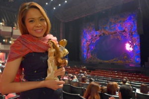 Doll Mama with Beauty and the Beast