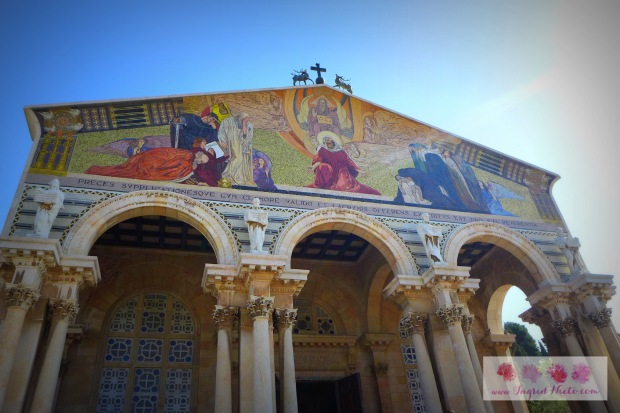 """The Church of All Nations is a Roman Catholic Church completed in 1924. It is one of the many churches built by Italian Architect Antonio Barluzzi who is also known as the """"Architect of the Holy Land"""""""