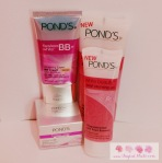 Pond's Pearl Cleansing Gel, Pond's Dewy Rose Gel and Pond's Flawless White BB + Cream