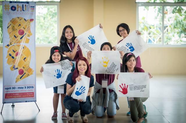 My high school camp buzz group. Photo by Saki de Leon