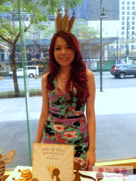 My red hair's first outing - The Burt's Bees X Sample Room event