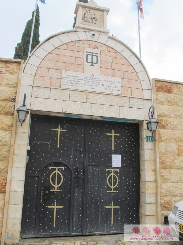 Greek Orthodox First Miracle Church (across the street from the Franciscan church)