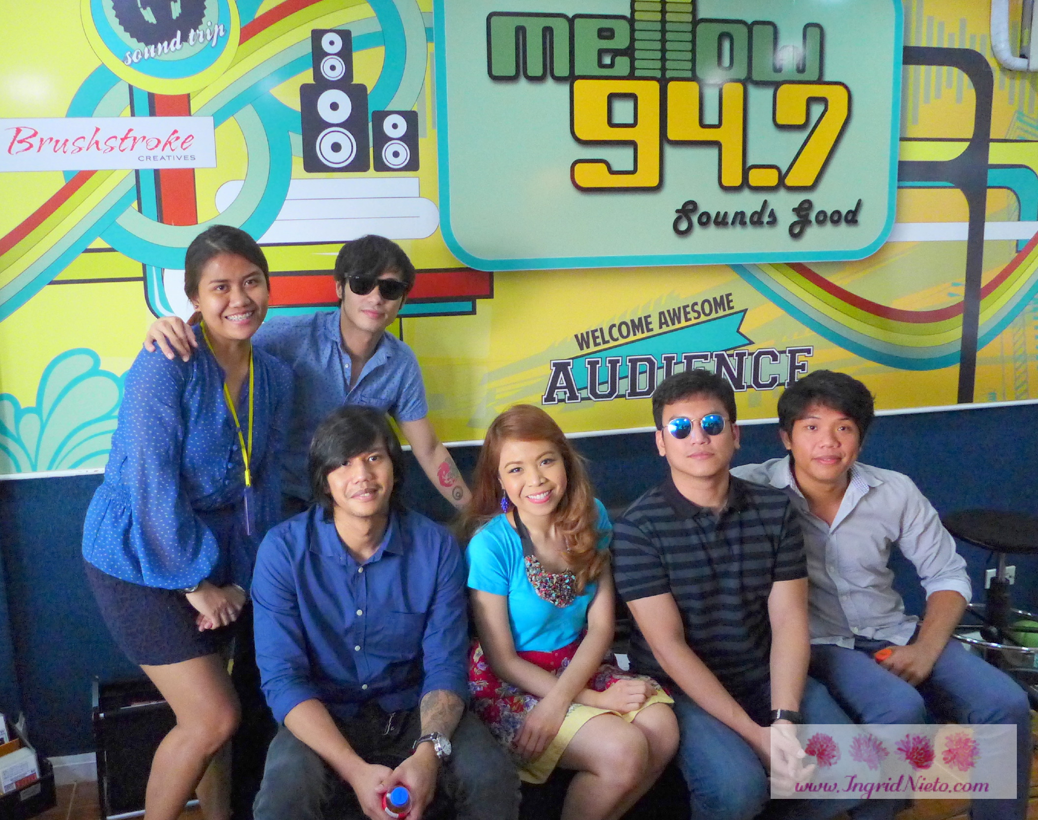 Callalily with me and our marketing supergirl/fellow video producer Deniece.
