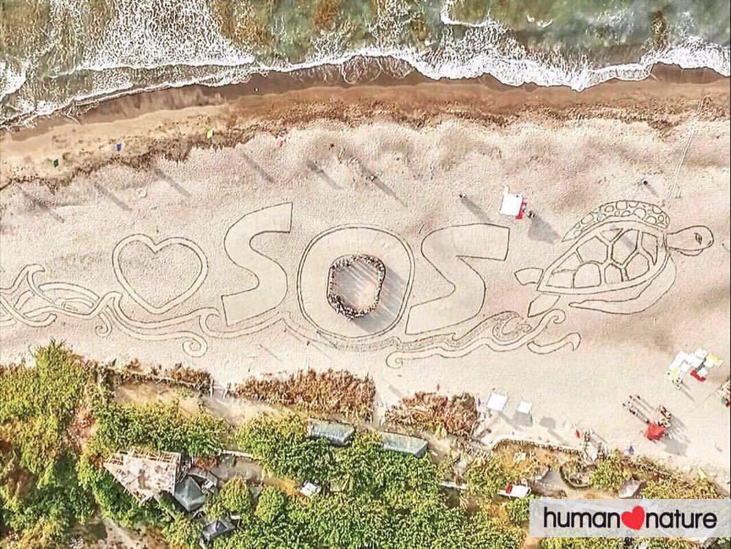 sos sand art