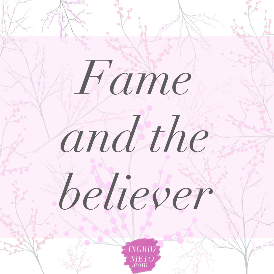 fame and the christian